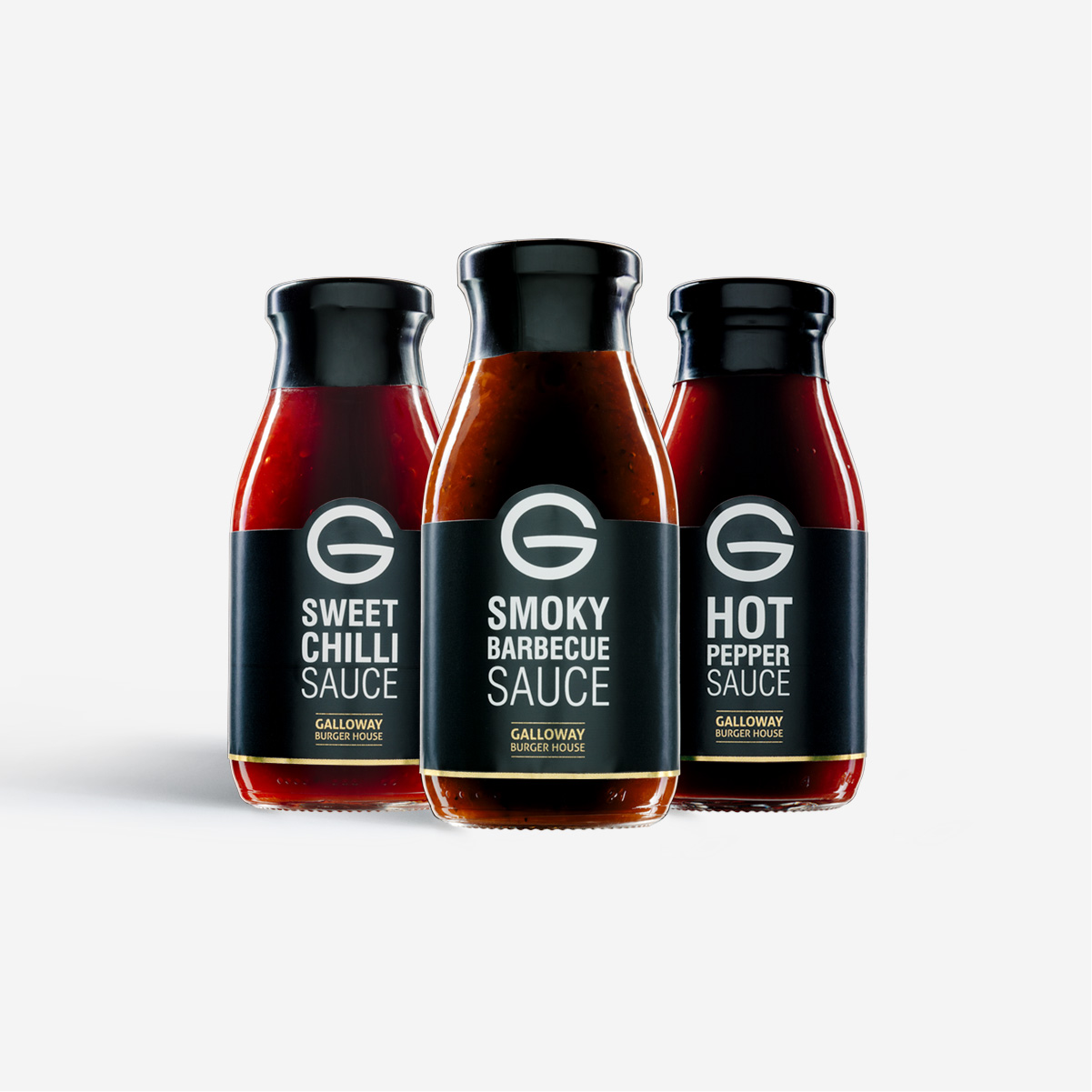 Galloway Burger House Sauce Bottles Thumbnail
